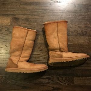 Ugg Boots Brown Fair condition size 8